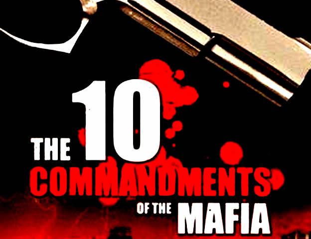 10-commandments-of-the-mafia